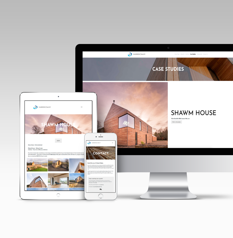 Example of responsive WordPress web design of different devices
